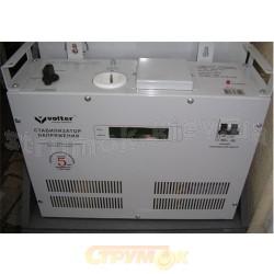 Стабилизатор напряжения Volter СНПТО 27 кВт У электронный ступенчатый на симисторных ключах