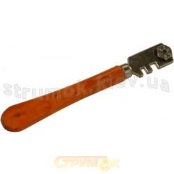 Стеклорез с деревянной ручкой 32206 PROLINE