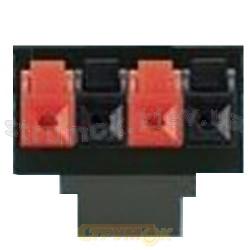 Суппорт для акустической стерео системы 5014Е-А03024 ABB Element 8595017209758 на 4 клеммы