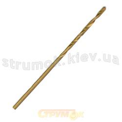 Сверло по металлу HSS с титановым покрытием 3,5мм Вист 20-225