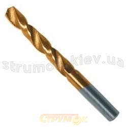 Сверло по металлу HSS с титановым покрытием 6,5мм Вист 20-255