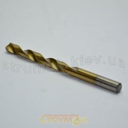 Сверло по металлу HSS с титановым покрытием 8мм 20-270
