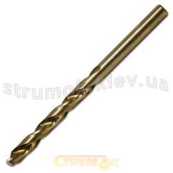 Сверло по металлу НSS с титановым покрытием 3,8 Spitce 20-228 уп 10шт