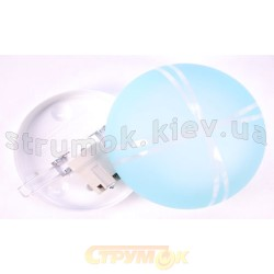 Светильник декоративный (00507) бирюзовый цвет