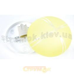 Светильник декоративный (00507) желтый цвет