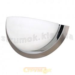 Светильник накладной Horoz хром матовый/хром HL634W max 60W E27 полусфера