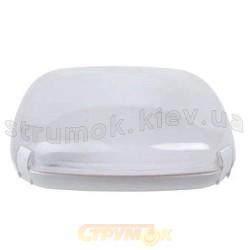 Светильник потолочный 20W 2xE27 Horoz HL633 белый матовый квадратный