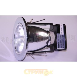 Светильник потолочный Delux DF-70 хром 10008581