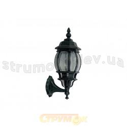 Светильник садово-парковый Delux PALACE С01 60W E27 черный цвет 10008458