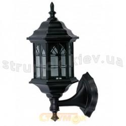 Светильник садово-парковый Delux PALACE В01 60W E27 черный цвет 10008444