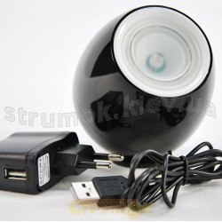 Светильник светодиодный Led Delux REL HOME 1 Led magic ball черный