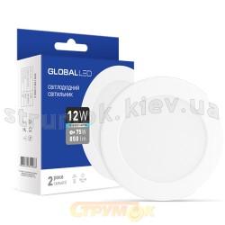 Светильник светодиодный LED SPN 12W 4100R C Global 1-SPN-008-C Maxus
