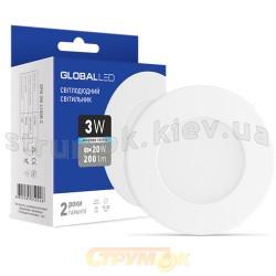 Светильник светодиодный LED SPN 3W 4100R C Global 1-SPN-002-C Maxus