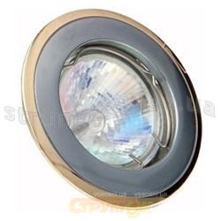 Светильник точечный Delux HDL16002 MR16 12V хром матовое золото 10008655
