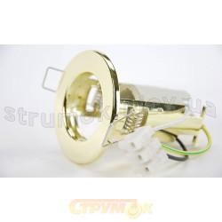 Светильник точечный Delux R-50S золото 10008791