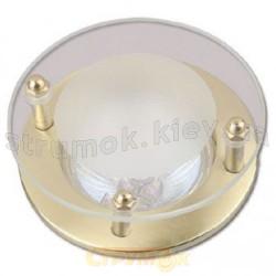 Светильник точечный Delux R-50SG золото античное 10008797