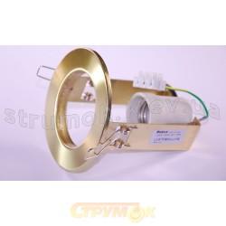 Светильник точечный Delux R-63S золото античное 10008802