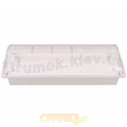 Светильник люминесцентный аварийный аккумуляторный Delux REL - 118 1x8 (6V.3Ah)