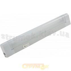 Светильник люминесцентный DELUX 1х8 W (WL026), L-345мм