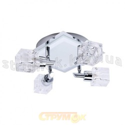 Светильник накладной Horoz хромбелый HL714  4 лампы цоколь G9 220V max 4х40W