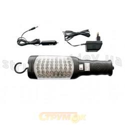 Светильник переносной аккумуляторный 48Led AML Working light 12V220V Delux