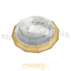 Светильник пластиковый двенадцатигранный Pirlanta 25 1xE27 белый РА-518