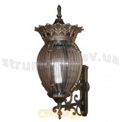 Светильник садово-парковый Delux PALACE А01 60W E27 IP44 черный цвет