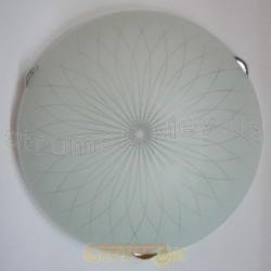 Светильник со стеклом Baklava 30 2хЕ27 IG - 302