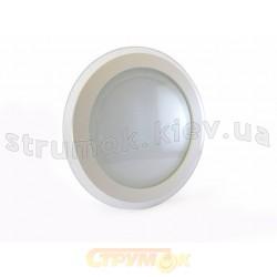 Светильник светодиодный  GLASS RIM Warm White 18W 457/2