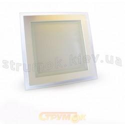 Светильник светодиодный SQ GLASS Warm White 6W 458/2