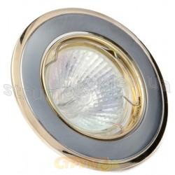 Светильник точечный DELUX HDL16002R MR16 12V золото матовое хром