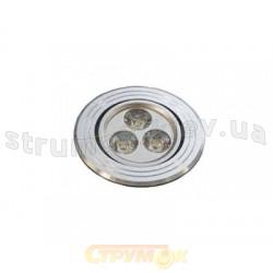 Светильник точечный Delux HDL3001R Led