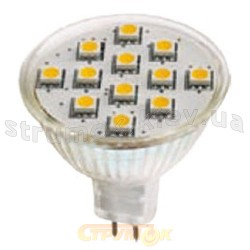 Светодиодная лампа Delux MR16A-12 2.5W белая 12V GU5.3 10069055
