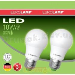 Светодиодная лампа Eurolamp LED A60 10W 4000K E27 MLP-LED-A60-10274(E) 2 шт.