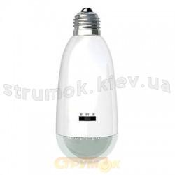 Светодиодная лампа Horoz Е27 1W HL310L с аккумулятором холодный свет 084 018 0001