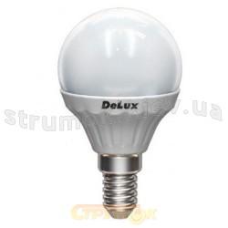 Светодиодная лампа Led Delux BL50A-27 3.2W 3000K 230V Е14 шар матовая 10097135