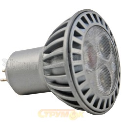 Светодиодная лампа Led Delux MR16 E-3x1W тепло-белая 12V GU5.3