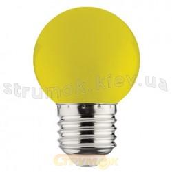 Светодиодная лампа LED Horoz 3W E27 220V желтая 001-017-0003