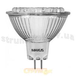 Светодиодная лампа Led Maxus 1-LED-110 MR16 38 DIP1 1,6W 6500K 12V G5.3