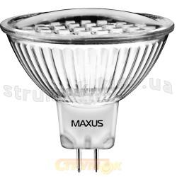 Светодиодная лампа Led Maxus MR 16 SMD 1.8W 3000K 220V G5.3 1-Led-201.