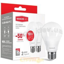 Светодиодная лампа Maxus 2-LED-562-P A60 10W 4100K 220V E27