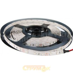 Светодиодная лента SMD S3528-600WW тепло белый/силикон 120шт/м, 12V