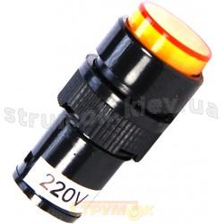 Сигнальная арматура NXD-212 24V AC/DC желтая