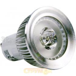 Лампа светодиодная HOROZ LED 230V 1x3W 6400K GU10