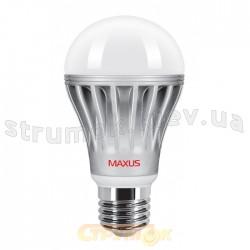 Светодиодная лампа Led Maxus A60 AL 10W 3000K 220V E27 1-Led-249