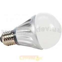 Лампа светодиодная МАХUS LED А60 SMD 6W 3000K 220V Е27 1-LED-320