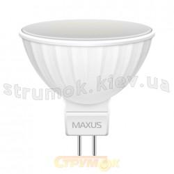 Светодиодная лампа Led Maxus 1-LED-144-01 MR16 GL 3W 4100K 220V GU5.3