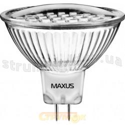 Светодиодная лампа Led Maxus MR16 30SMD 1.5W 5500K 220V GU5.3 1-Led-204