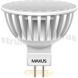 Светодиодная лампа Led Maxus MR 16 38 DIP 1.6W 3000K 220V G5.3 1-Led-107