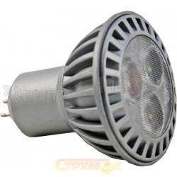 Светодиодная лампа Led Maxus 1-Led-214 MR16 3x1 HP 3.5W 6500K 220V G5.3 CNC